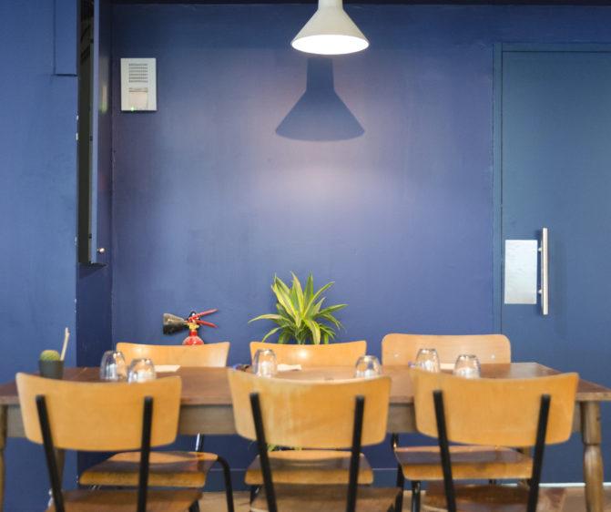 mroc bloc et bistrot restaurant signalétique architecture design d'espace studio frvr