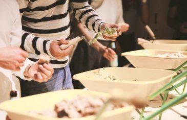 brouette houmous et guacamole cuisign