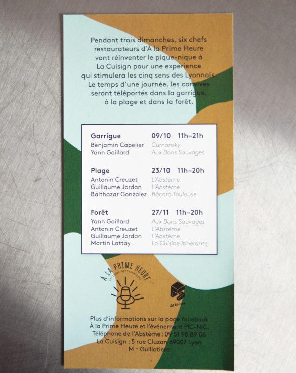 flyer abstrait graphique