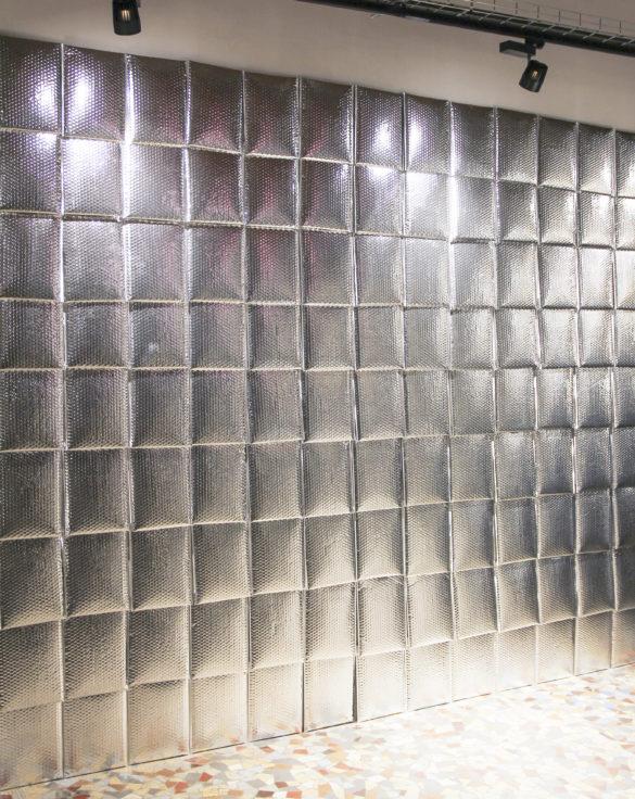 enveloppe aluminium décoration