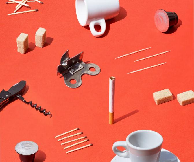 shooting motif café clope