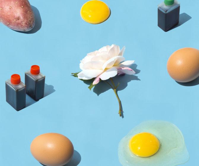 motif culinaire absurde esthétique