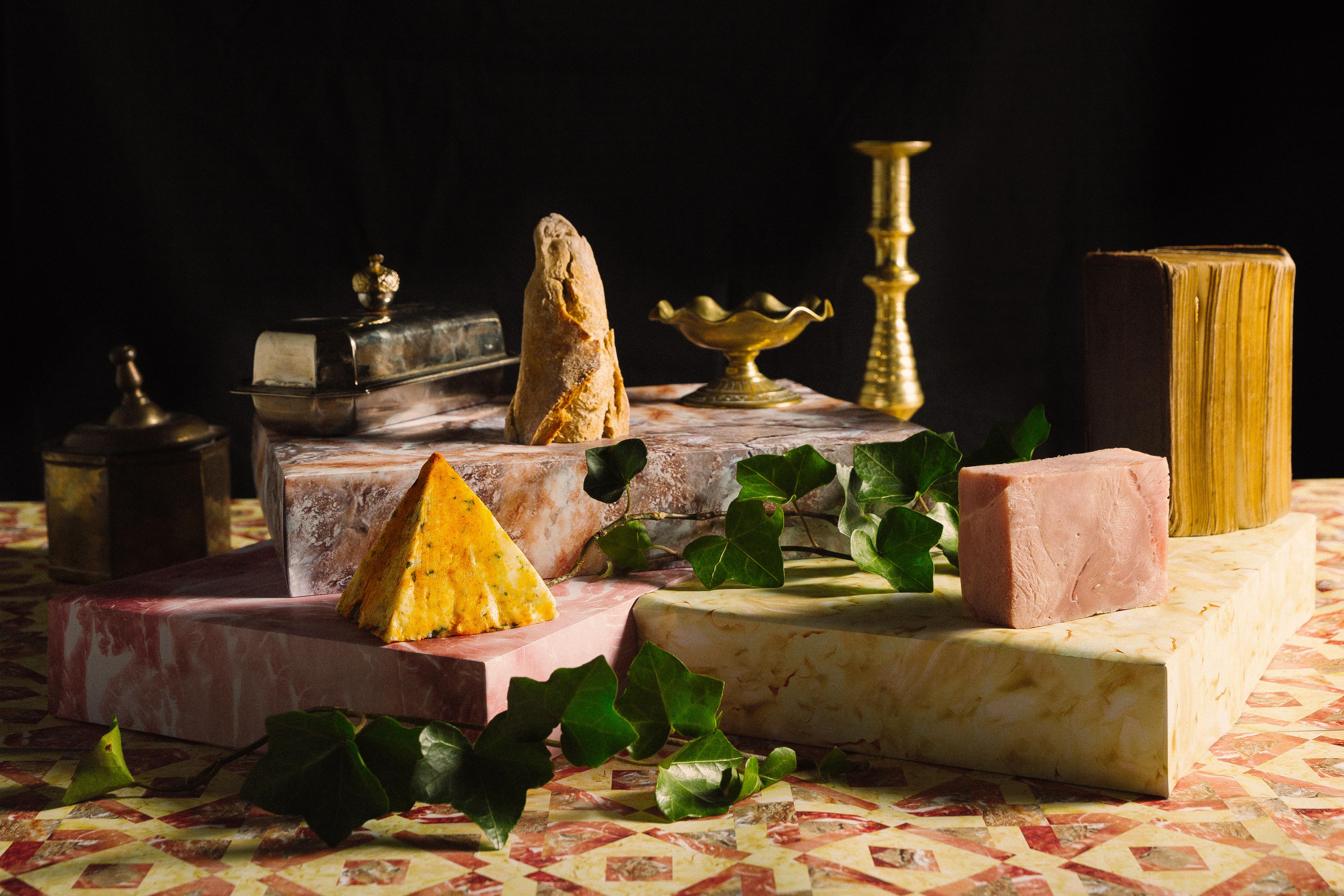photo culinaire jambon beurre décomposé