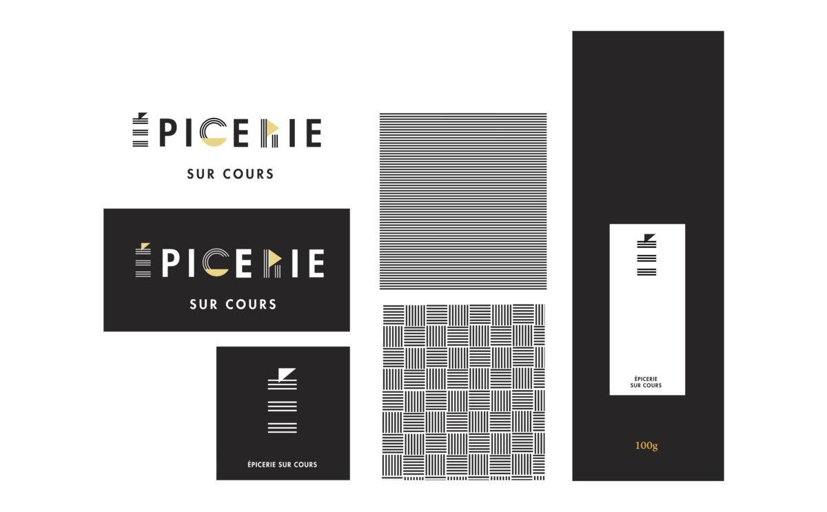 identité visuelle logo typographique