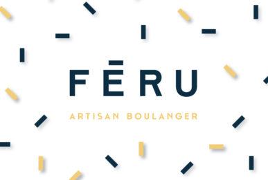 Féru artisan boulanger logo et identité visuelle conçu par le studio frvr