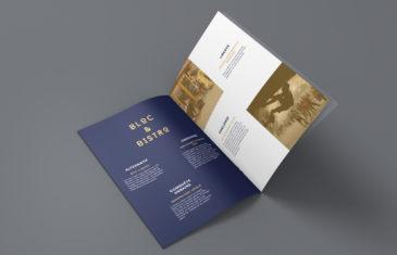 mroc bloc et bistrot brochure commerciale studio frvr