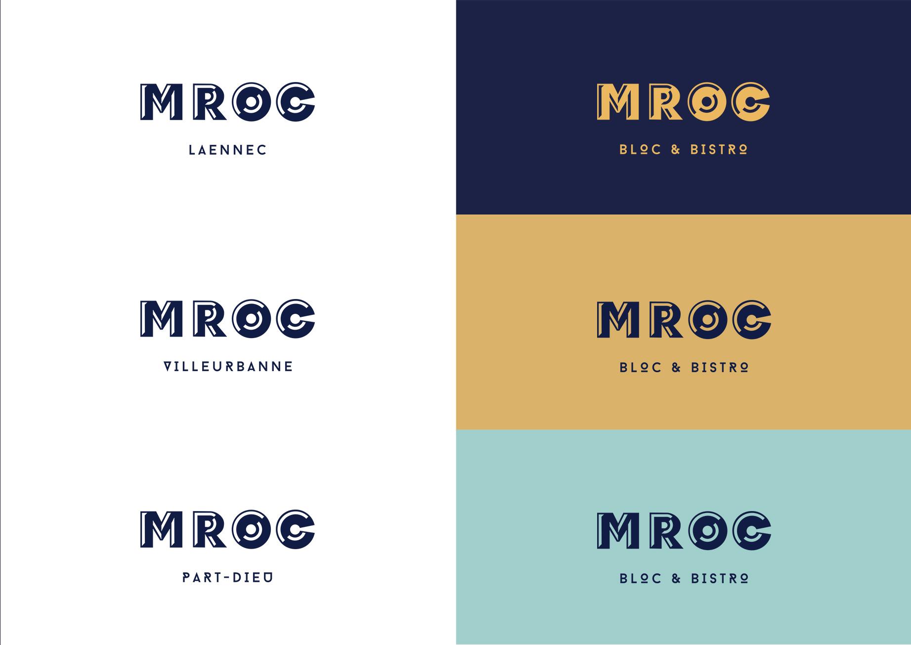 charte graphique mroc bloc et bistrot design studio frvr