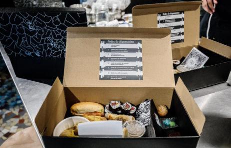 menu junk food box