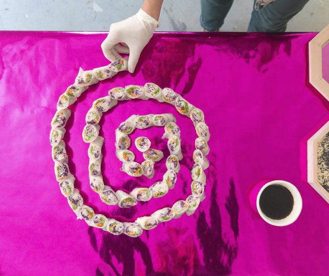 art food design frvr Justine Chikan's Shivay taverne gutenberg vice